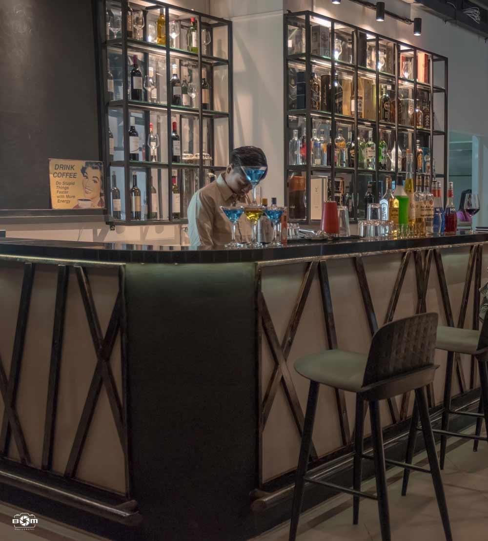 Bar in Yangon